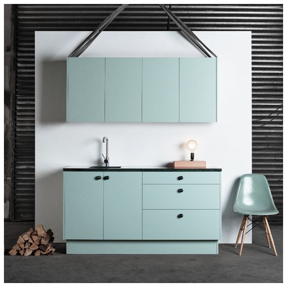 SUPERFRONT AERUGO GREEN - Colours - mint green covers for ikea cabinets!! may have to go pick these up in stockholm with me @Rebekah Opperman
