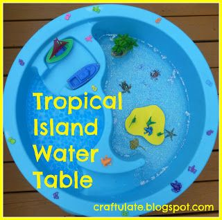 Craftulate: Tropical Island Water Table