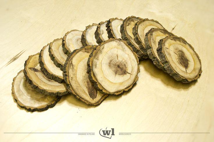 Plastry drewna 10 szt., typ C, 8-11cm