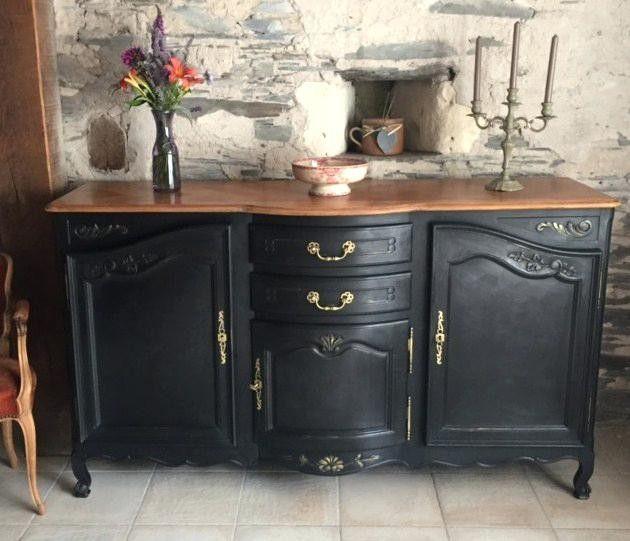 peindre un buffet ancien meuble repeint
