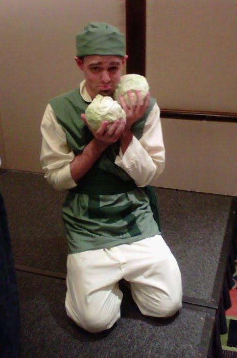 Avatar Cosplay hahaha my cabbages! @Brooke Baird (Rane) McKinney