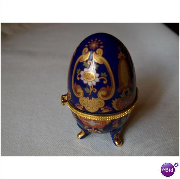 RUSSIAN EGG TRINKET BOX. on eBid United Kingdom