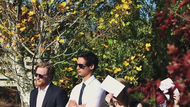 Wedding Video | Christchurch, NZ | A photoshoot in the woods, it was like being in a fairytale | firetaleweddings.nz