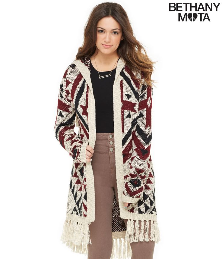 Ganado Hooded Cardigan from Bethany Mota Collection at Aeropostale