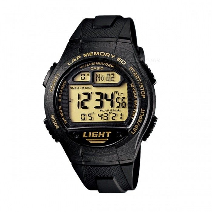 Casio W-734-9AVDF Sport Watch - Black (Without Box)