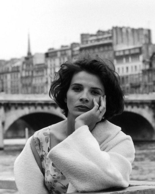 #Robert Doisneau Photography|Juliette Binoche