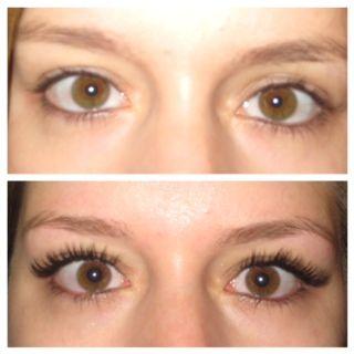 Eyelash Extensions Lengths 70