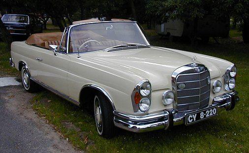1963 Mercedes-Benz Convertible.  Very Charlotte Moss.