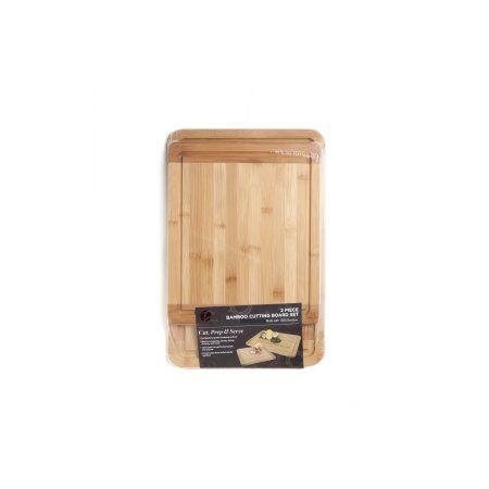 Zaza Kitchen 2 Piece Bamboo Boards