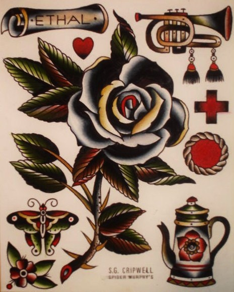 Tattoo Designs Maker: 1000+ Ideas About Black Rose Tattoos On Pinterest