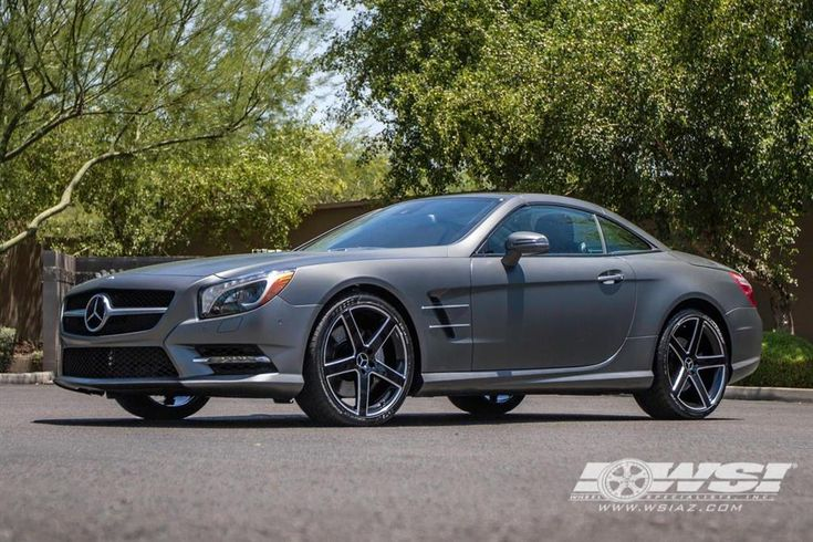 "Mercedes-Benz SL550 with 20"" TSW Wheels by Wheel Specialists, Inc. in Tempe AZ . Click to view more photos and mod info."