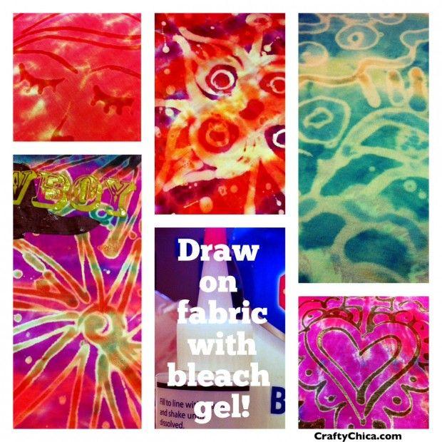 175 best tie dye love images on pinterest tye dye for Bleach dye shirt instructions