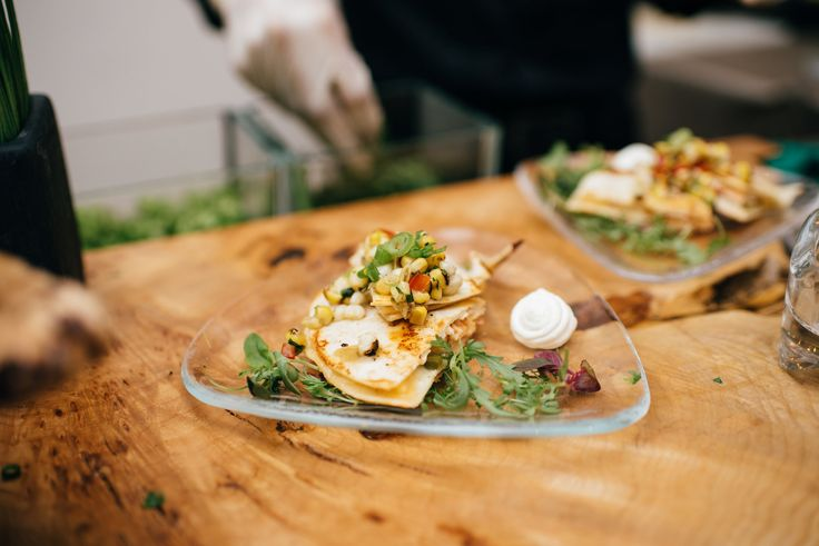 Lobster Quesadillas by The Food Dudes