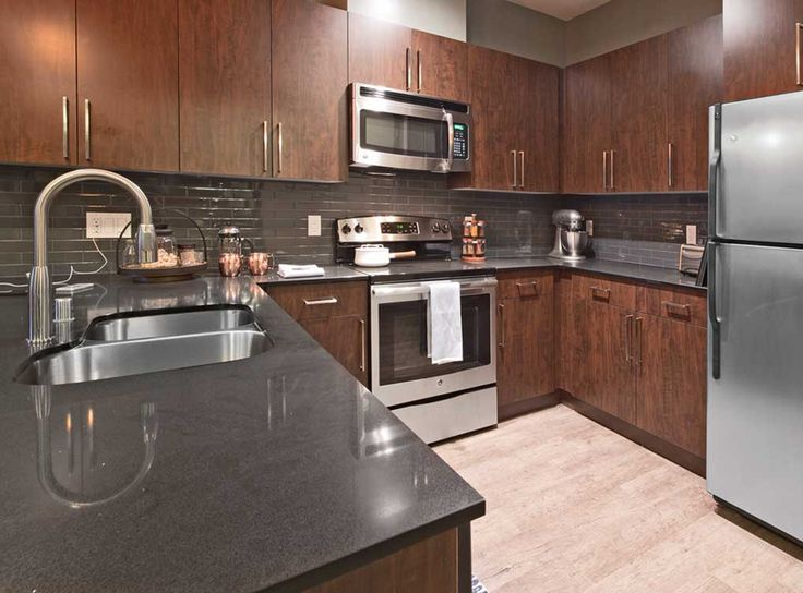 Amli mark24 offers two interior design finishes fully - Seattle kitchen appliances ...