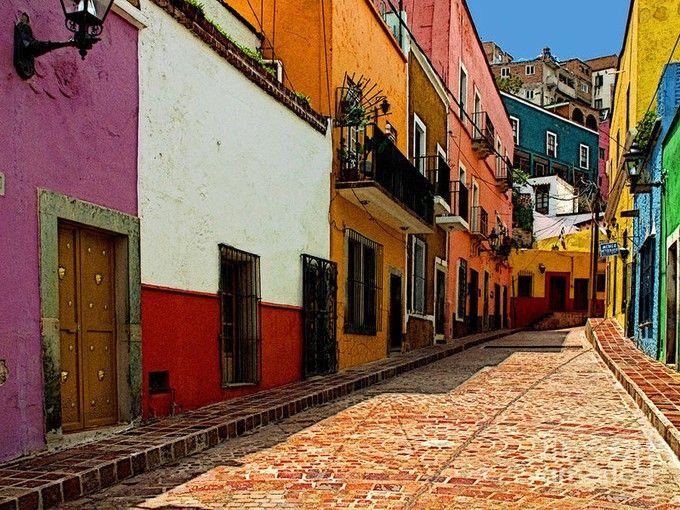 メキシコで一番美しい「グアナファト」のカラフルな町並みがとっても可愛い♪