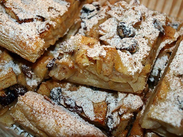Tyrolský jablečný koláč