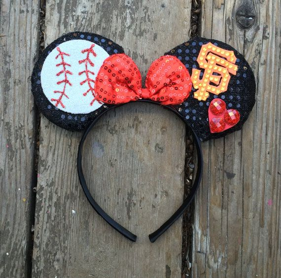 San Fransico Giants Mickey Ears