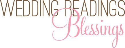 Wedding Readings - Blessings -