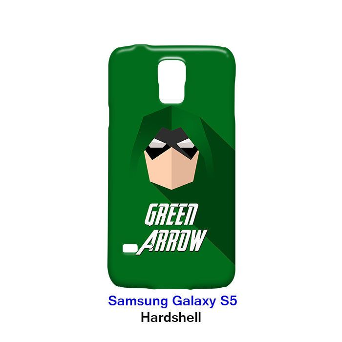 Green Arrow Superhero Samsung Galaxy S5 Hardshell Case