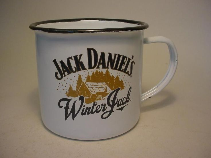 12 x Jack Daniels Winter Jack Enamel Tin Camping Mugs +Boxes Free P&P in Collectables, Breweriana, Jack Daniels | eBay