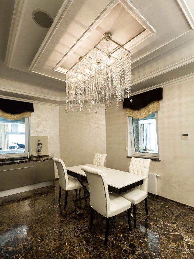 Crystal ceiling lights by ArtGlass beautify your interier with the #ContemporaryLighting design.