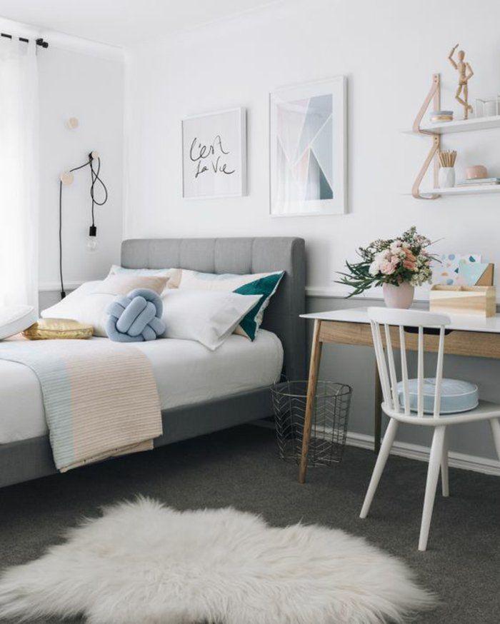 17 meilleures id es propos de couleurs de chambre ado for Chambre cocooning ado