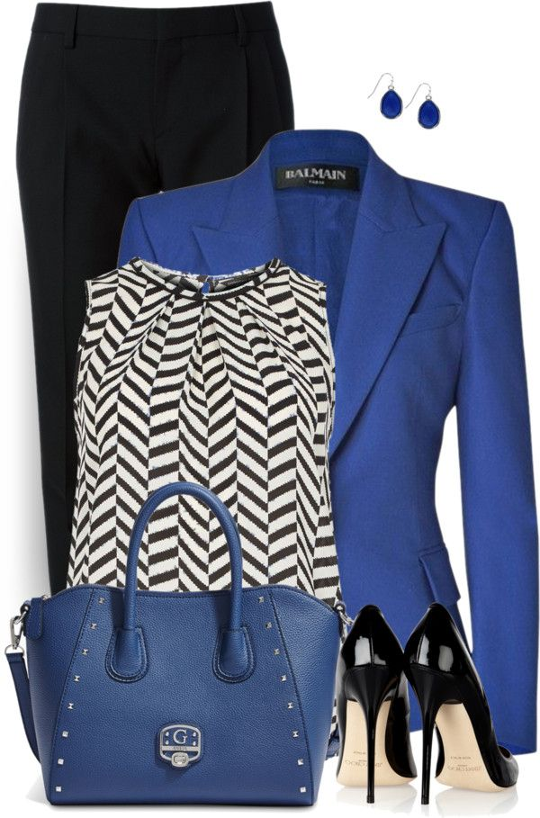 Outfit by daiscat Blazer is a symbol of formal style; we can't deny about it. But new fashion trends able to put blazer into much broader occasions. We can mix blazer with less format outfit to cre…