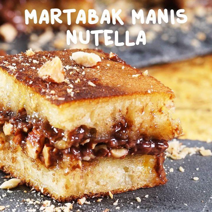 Martabak Manis Nutella Resep Lengkap 👉 https://taste.md/2mZA4nI  Dapatkan resep kue lainnya pada aplikasi kami: 👉 http://link.tastemade.com/HE7m/meU5N77tQx #tasterich #kitchenaid #kitchenware #foodporn #food #kitchen#Easycooking #cookingmate #eatclean #livingwell #eatwell #cleaneating #healthyeating #ecomom #cookinglovers #cookingtools  #cookingutensil