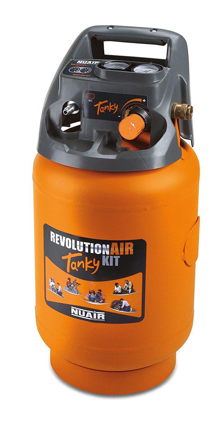 RevolutionAIR Tanky Air receiver, Orange: Amazon.co.uk: DIY & Tools