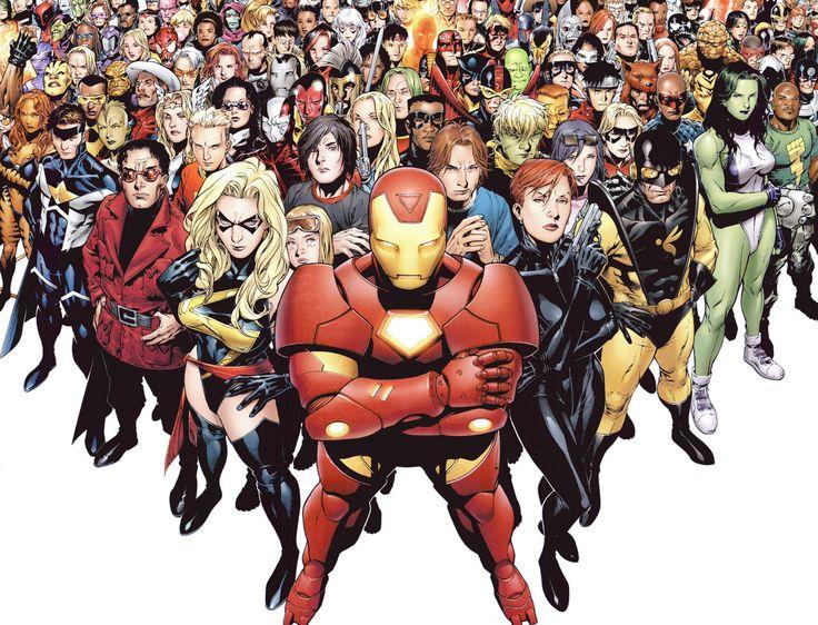Bande-dessinées Marvel  Marvel Unlimited Iron Man Ms. Marvel Cheetara Miss Hulk Fond d'écran