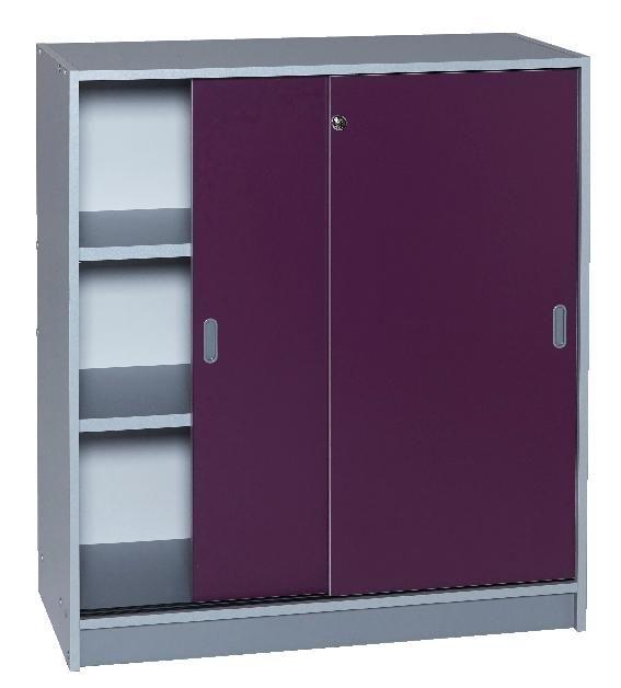 Armoire Hauteur 180 Armoire De Bureau Aluminium Portes Coulissantes Hauteur 180 Cm Locker Storage Storage Lockers
