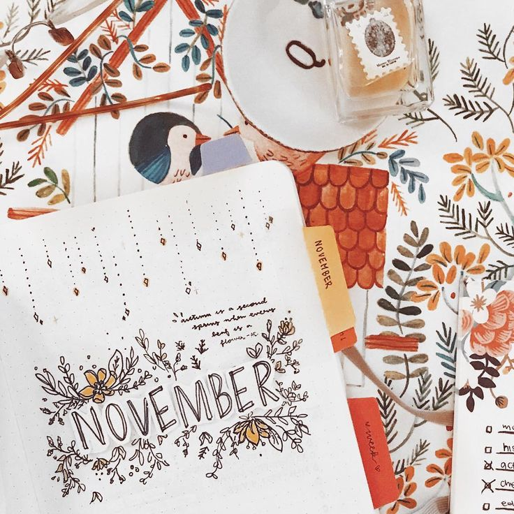 """6,124 Likes, 19 Comments - brian qian (@studywithinspo) on Instagram: """"november plan with me I absolutely love every single page I made, and I hope you will too!! I…"""""""