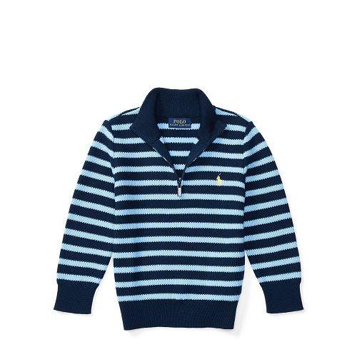 Pull en coton rayé Ralph Lauren pas cher prix Pull Garçons Ralph Lauren 79.00 €