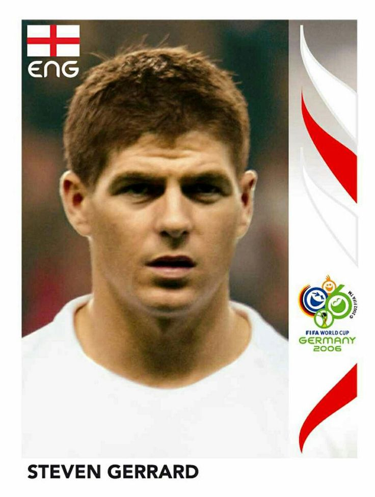 105 Steven Gerrard - England - FIFA World Cup Germany 2006