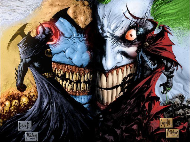 Batman/Spawn by Greg Capullo