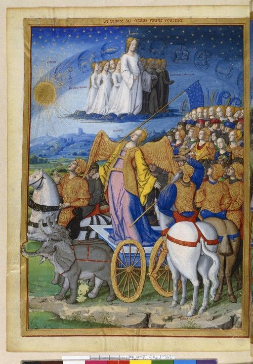 marinni   Триумфы. Миниатюры и графика. 15-16 век.