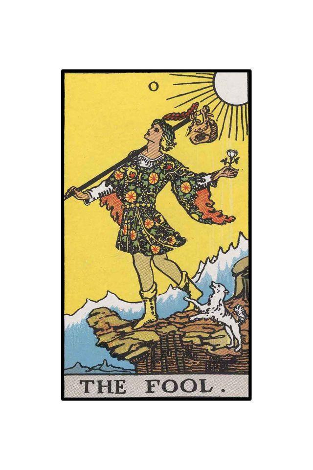 11 Best Secret Symbols Of The Fool Tarot Card Images On