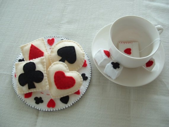 Felt Food Set - Alice in Wonderland