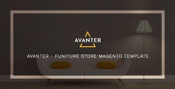 Avanter - Funiture Store Magento Template