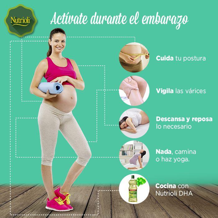 Durante el embarazo lleva un control médico, balancea tu ...