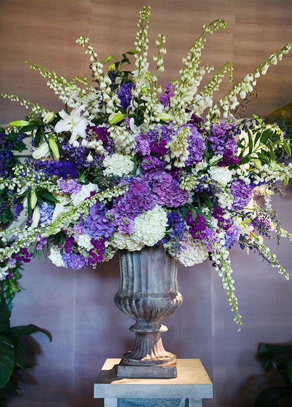 Purple Wedding, Wedding Ceremony, Garden Wedding, Decoration, Flowers    Colin Cowie Weddings