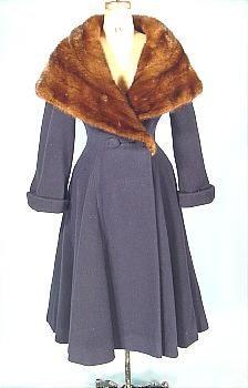c. 1953, Wool Coat