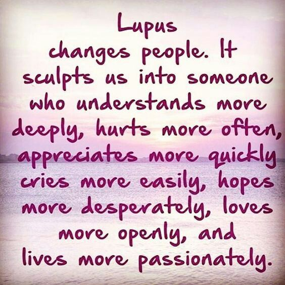 #lupus ⭐And it is a disease that causes great suffering but treatable with meds- still requires great bravery. Remember to listen to  your friend or family member with Lupus. A nod, while listening or drop by a box of  tea with a note means the  world. Also listening to the 2 X weekly podcast that can be listened to anytime on Molly's Fund facebook page! I love these podcasts. They help me so much.