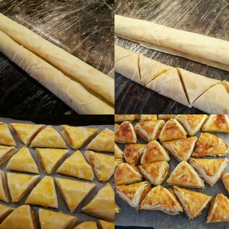 Patatesli yufkalı muskalar,patatesli çıtırları, yufka ile yapılan tarifler, kolay patatesli yufka böreği,kıymalı börek, tv de yapılan börekler,Memetözerile, foxtv,