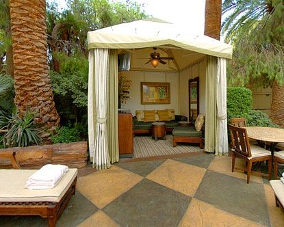 13 best small pool cabana decor images on Pinterest | Pool ... on Small Pool Cabana Ideas id=40291