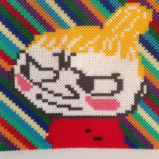 Little My - Moomin hama beads by misshee
