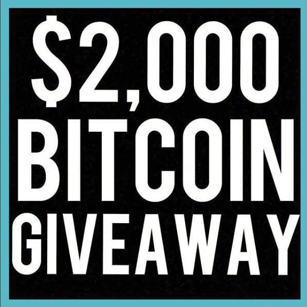 @bitcointre is giving away $2000 worth of Bitcoin to a lucky follower on January 14th! All you have to do to enter to win is follow these steps! . 1. Must be following @bitcointre 2. Screenshot the pic above  3. Copy and paste the caption of this entire post and then post it along with the pic. 4. Tag @bitcointre to enter  #CryptoWorld #bitconnect #ftw
