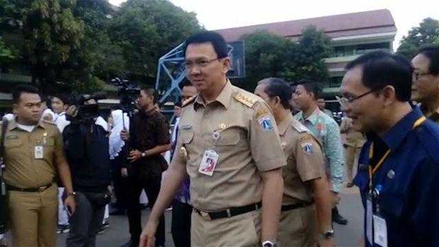 Ujian nasioanl tingkat menengah atas sedang berlangsung, Ahok datang ke SMA 30 Jakarta dan memberi arahan tentang ujian yang sebenarnya. Apa itu?