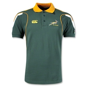 South Africa Springboks C Polo - WorldRugbyShop.com