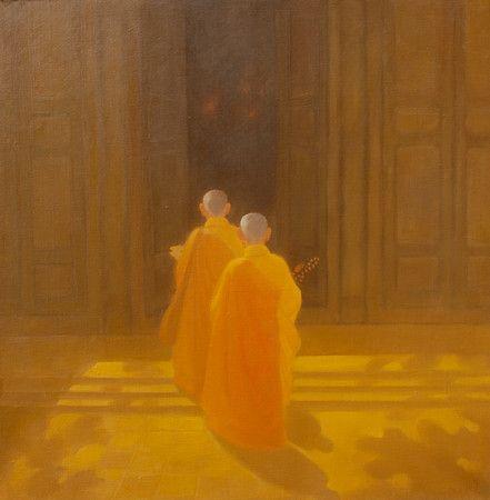 Bui Van Hoan - Going to the Pagoda